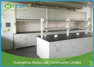 Modern Science Laboratory Benches And Cabinets , School Laboratory Furniture Table